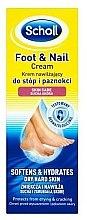 Profumi e cosmetici Crema per i piedi - Scholl Moisturizing Foot and Nail Cream
