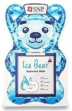 Profumi e cosmetici Maschera viso all'acido ialuronico - SNP Ice Bear Hyaluronic Mask