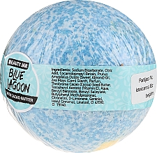 Bomba da bagno al burro di cacao - Beauty Jar Blue Lagoon — foto N2