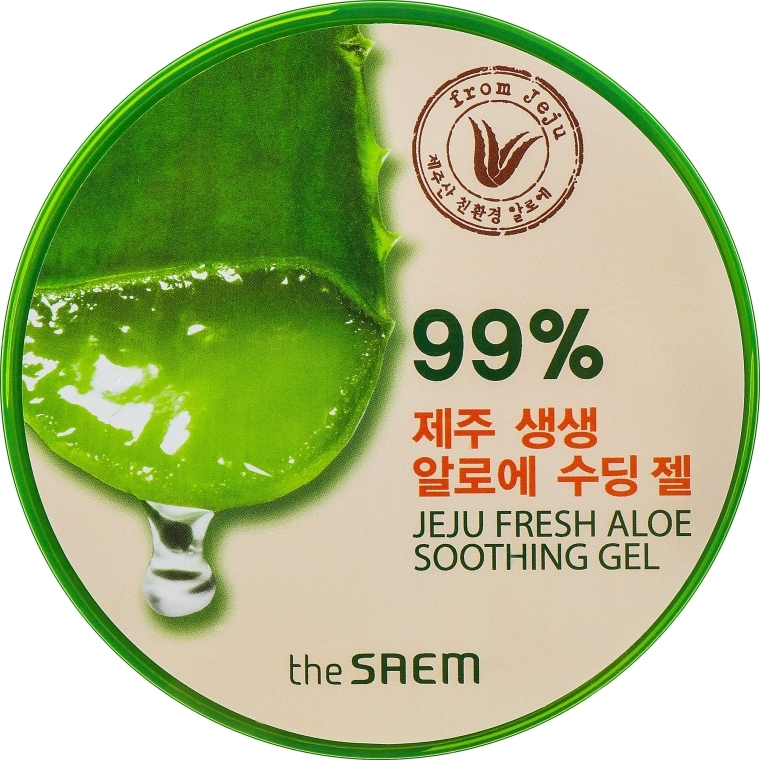 Gel di aloe universale - The Saem Jeju Fresh Aloe Soothing Gel 99%