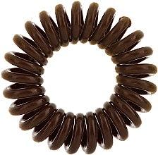 Elastici per capelli, 3 pz - Invisibobble Original Pretzel Brown — foto N2