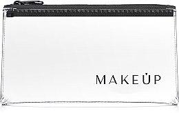 """Profumi e cosmetici Beauty case trasparente """"Flat Glow"""" 20x10cm - MakeUp"""