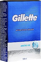 """Profumi e cosmetici Lozione dopobarba """"Tonificante"""" - Gillette Series Arctic Ice After Shave Splash Bold"""