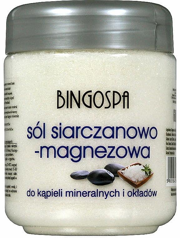 Sale da bagno - BingoSpa Salt And Magnesium Sulphate — foto N1