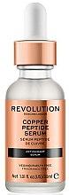 Profumi e cosmetici Siero viso antiossidante - Revolution Skincare Copper Peptide Serum