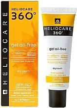 Profumi e cosmetici Gel con protezione solare SPF 50 - Cantabria Labs Heliocare 360 Gel Oil-Free Dry Touch