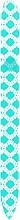 Profumi e cosmetici Lima per unghie, in vetro, turchese - Blazek Glass Nail File
