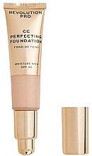 Profumi e cosmetici CC-Crema - Revolution Pro CC Cream Perfecting Foundation SPF 30