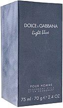 Profumi e cosmetici Dolce & Gabbana Light Blue pour Homme - Deodorante stick