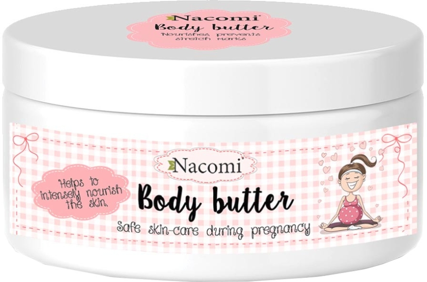 Burro corpo altamente nutriente - Nacomi Pregnant Care Intensive Body Butter