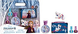 Profumi e cosmetici Disney Frozen II - Set (edt/50ml + nail/polish/2x5ml + bag)