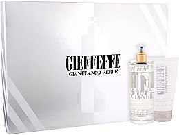 Profumi e cosmetici Gianfranco Ferre Gieffeffe - Set (edt/100ml + sh/gel/75ml)