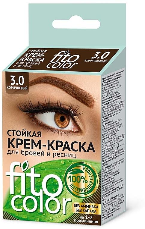 Crema colorante ciglia e sopracciglia - Fito Cosmetic FitoColor