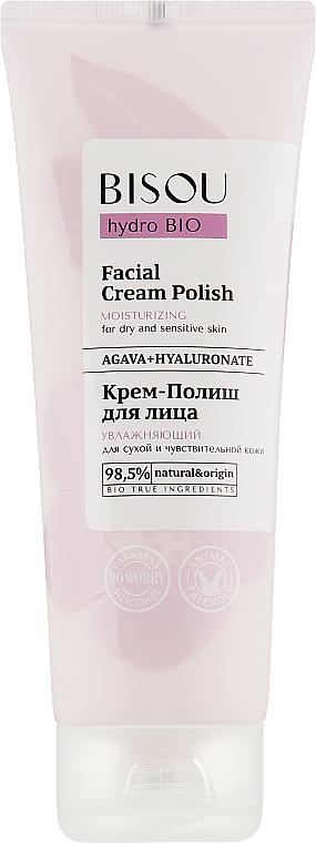 "Crema-polish ""Idratante"" - Bisou Hydro Bio Facial Cream Polish"