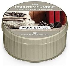 "Profumi e cosmetici Candela da tè ""Calda e soffice"" - Country Candle Warm & Fuzzy Daylight"