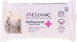 Profumi e cosmetici Salviettine umidificate antibatteriche - Cleanic Antibacterial Travel Pack Refreshing Wet Wipes