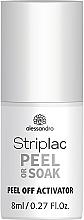 Profumi e cosmetici Solvente per smalto gel - Alessandro International Striplac Peel Or Soak Peel Off Activator
