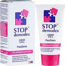 """Profumi e cosmetici Crema """"Pure Derm 9 in 1 Stop Demodex"""" - FitoBioTehnologia Stop Demodex"""