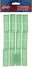 Profumi e cosmetici Bigodini in velcro 20/63, verdi - Ronney Professional Velcro Roller