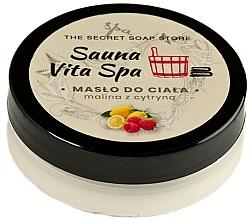 """Profumi e cosmetici Burro corpo """"Lampone e limone"""" - The Secret Soap Store Sauna Vita Spa"""