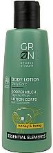 """Profumi e cosmetici Lozione corpo """"Miele e Canapa"""" - GRN Essential Elements Honey & Hemp Body Lotion"""