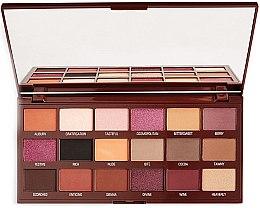 Profumi e cosmetici Palette ombrett - I Heart Revolution Cranberries & Chocolate Palette