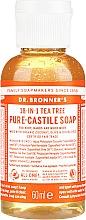 """Profumi e cosmetici Sapone liquido """"Tea tree"""" - Dr. Bronner's 18-in-1 Pure Castile Soap Tea Tree"""