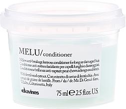 Profumi e cosmetici Balsamo per capelli fragili - Davines Melu Conditioner Anti-Rottura Lucidante