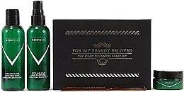 Profumi e cosmetici Set - Men Rock Awakening Beardy Beloved Care Kit (soap/100ml + balm/100ml + wax/25ml + comb/1pcs)