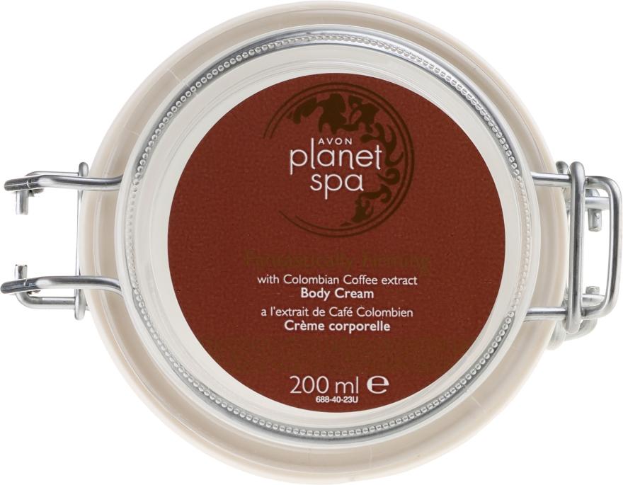 """Crema corpo """"Rafforzamento perfetto"""" con un estratto di caffè colombiano - Avon Planet Spa Body Cream — foto N3"""