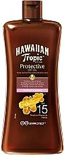 Profumi e cosmetici Olio solare protettivo SPF15 - Hawaiian Tropic Protective Oil SPF 15