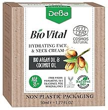 Profumi e cosmetici Crema idratante per viso e collo 35+ - DeBa Bio Vital Hydrating Face and Neck Cream