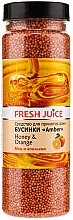 Profumi e cosmetici Perle da bagno - Fresh Juice Bath Bijou Amber Honey and Orange