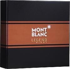 Profumi e cosmetici Montblanc Legend Night - Set (edp/50ml + ash/balm/100ml)