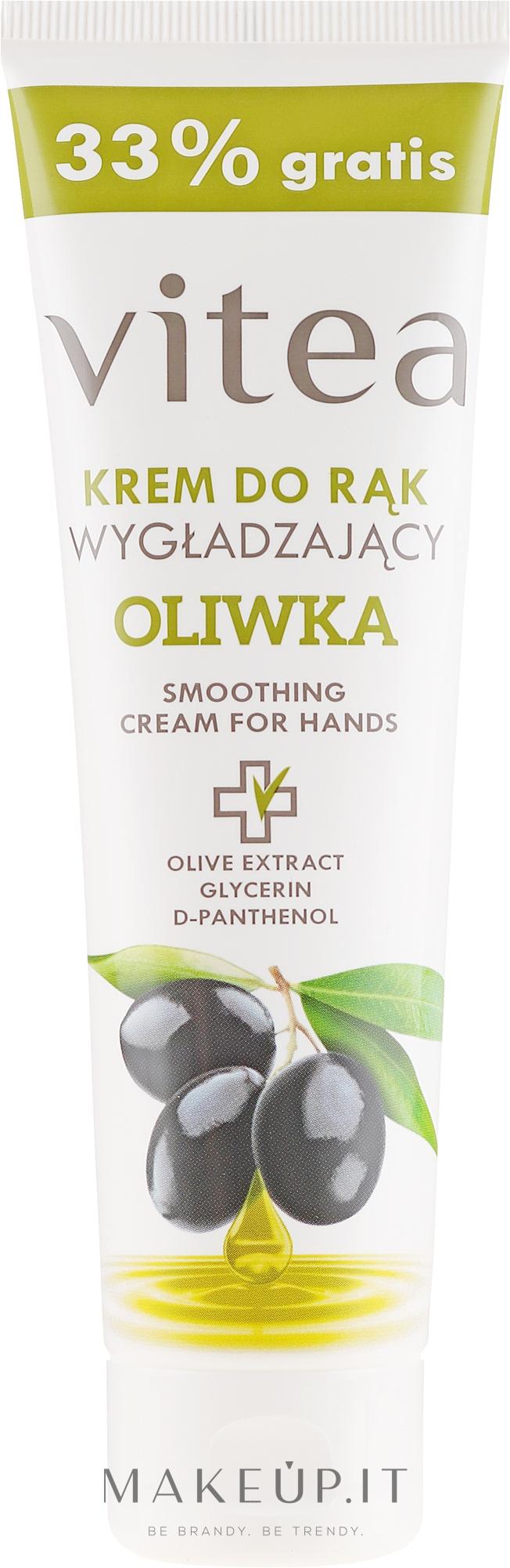 Crema mani levigante con olio d'oliva - Vitea Moisturizing Hand Cream Olive Oil — foto 100 ml