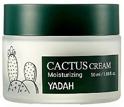 Profumi e cosmetici Crema viso idratante al cactus - Yadah Moisturizing Cactus Cream