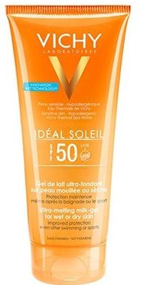 Gel solare idratante - Vichy Ideal Soleil Ultra-Melting Milk Gel SPF 50