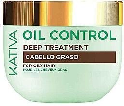 Profumi e cosmetici Maschera capelli grassi - Kativa Oil Control Deep Treatment