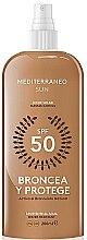 Profumi e cosmetici Lozione solare - Mediterraneo Sun Suntan Lotion SPF50