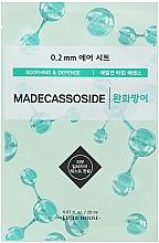 "Profumi e cosmetici Maschera viso, in tessuto, ""Madecassoside"" - Etude House Therapy Air Mask Madecassoside"