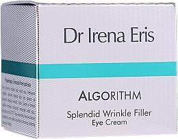 Profumi e cosmetici Crema pelle contorno occhi - Dr Irena Eris Algorithm Splendid Wrinkle Filler Eye Cream