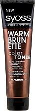 Profumi e cosmetici Crema tonificante capelli - Syoss Color Toner