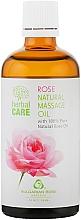 """Profumi e cosmetici Olio da massaggio """"Rosa"""" - Bulgarian Rose Herbal Care"""