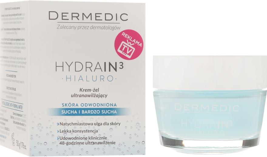Crema-gel viso idratante - Dermedic Hydrain3 Hialuro