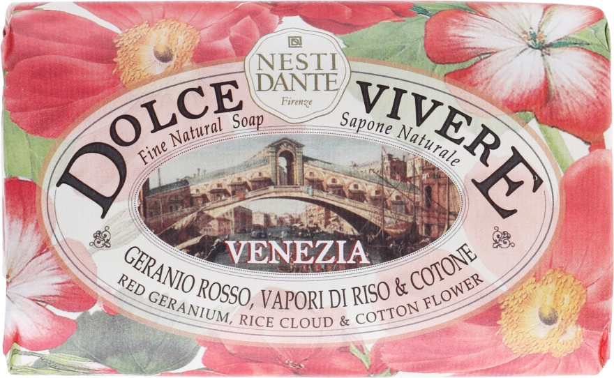 """Sapone naturale """"Venezia"""" - Nesti Dante Dolce Vivere Soap"""