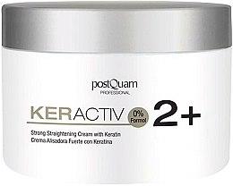 Profumi e cosmetici Crema con cheratina per lisciare capelli - PostQuam Keractiv Strong Straightening Cream With Keratin