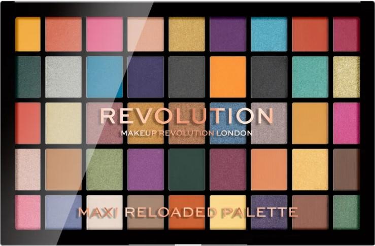Palette ombretti, 45 tonalità - Makeup Revolution Maxi Reloaded Palette