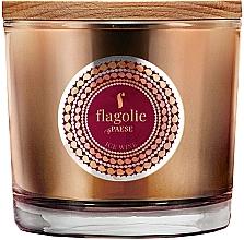 "Profumi e cosmetici Candela profumata in bicchiere ""Ice Wine"" - Flagolie Fragranced Candle Ice Wine"
