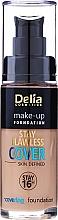 Profumi e cosmetici Fondotinta - Delia Cosmetics Stay Flawless Cover