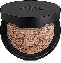 Profumi e cosmetici Cipria abbronzante - Aden Cosmetics Glowing Bronzing Powder